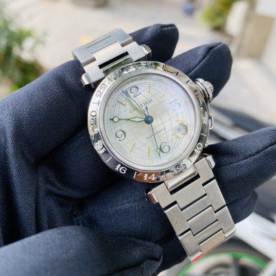 Cartier Pasha C GMT Meridian W31078M7