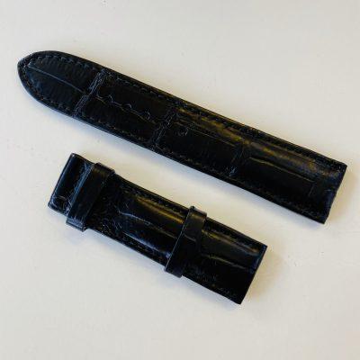 dây da cá sấu màu đen